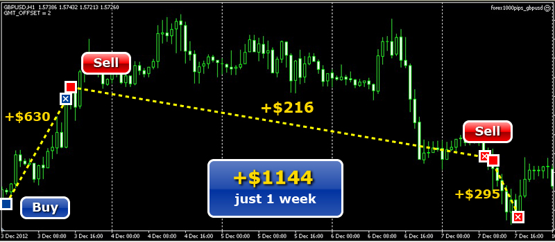 Forex Pips E.A. has been designed to help you make money through Forex. It is a FULLY AUTOMATED software. It is totally up to you if it will work all day long, but it is more effective when turned off at certain times, such as when important economical news are expected.